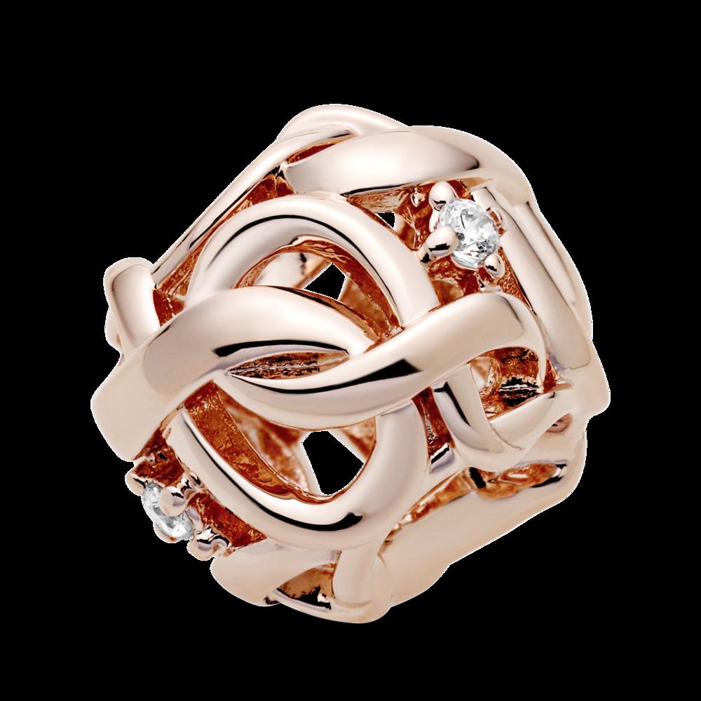 "Ажурна намистина ""Символ нескінченності"" Pandora Rose™"