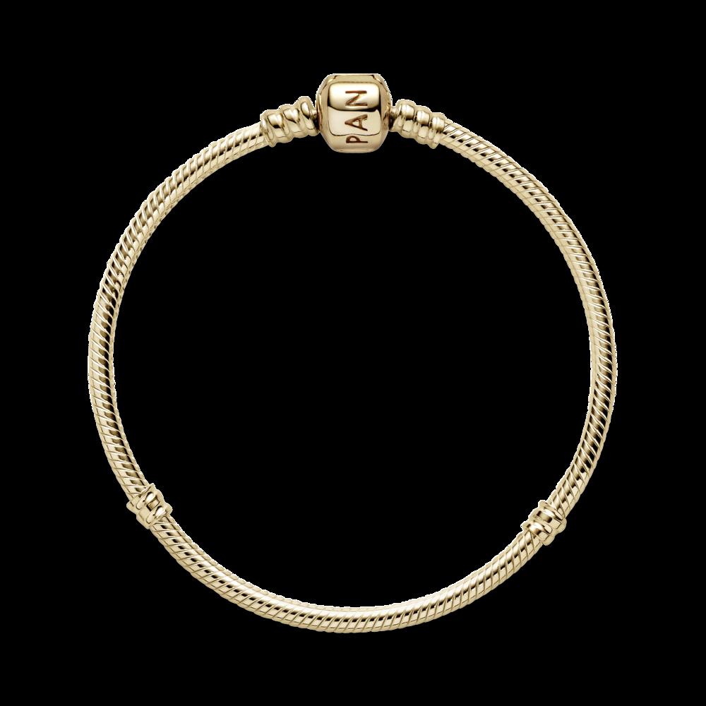 Золотий браслет Pandora 550702