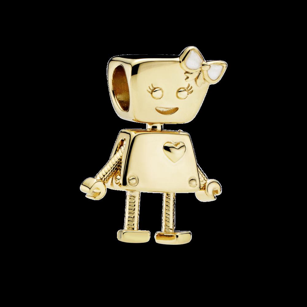 """Намистина """"Робот Белла"""" Pandora Shine"""