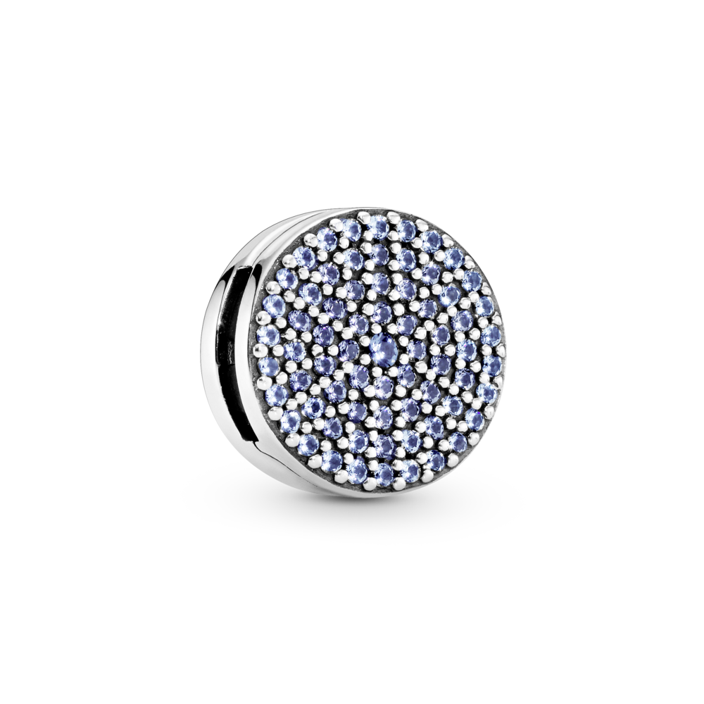 "Намистина ""Синій кристал"" Pandora Reflexions"