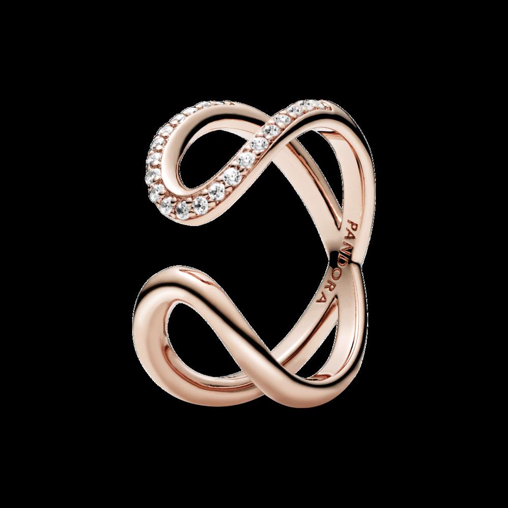 Розімкнута каблучка Pandora Rose