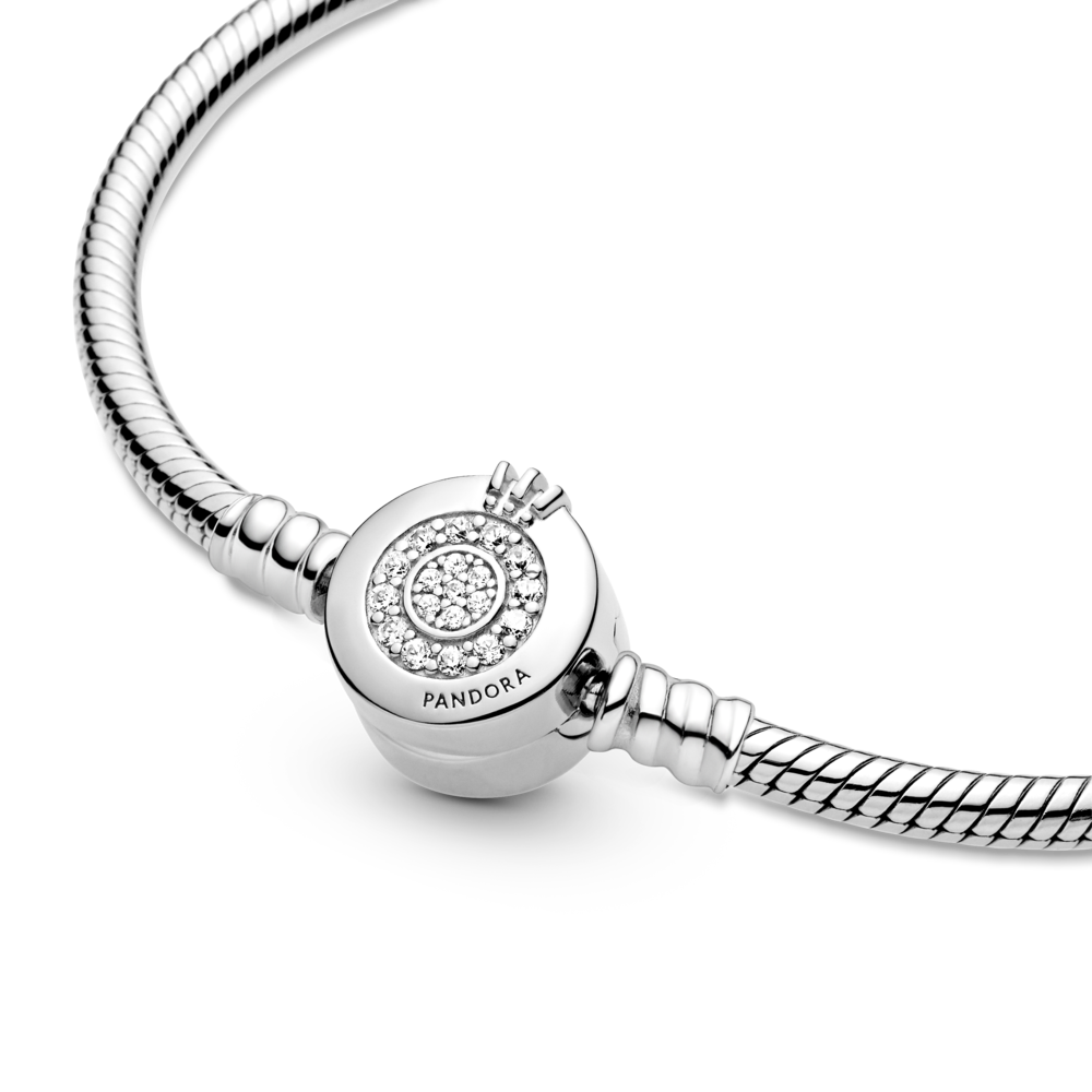 Браслет з монограмою Pandora — фото 4