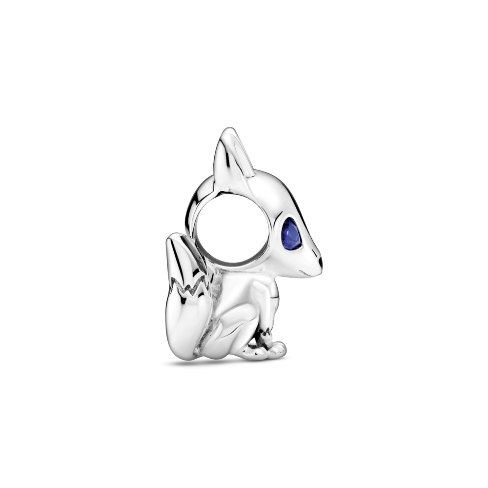 """Намистина """"Лисичка з блакитними очима"""""""