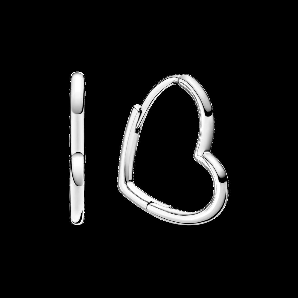 Сережки з асиметричними серцями