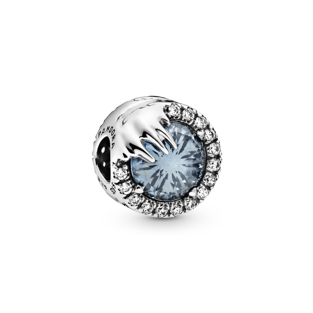 """Намистина """"Зимовий кристал з м/ф """"Крижане серце"""" — фото 1"""