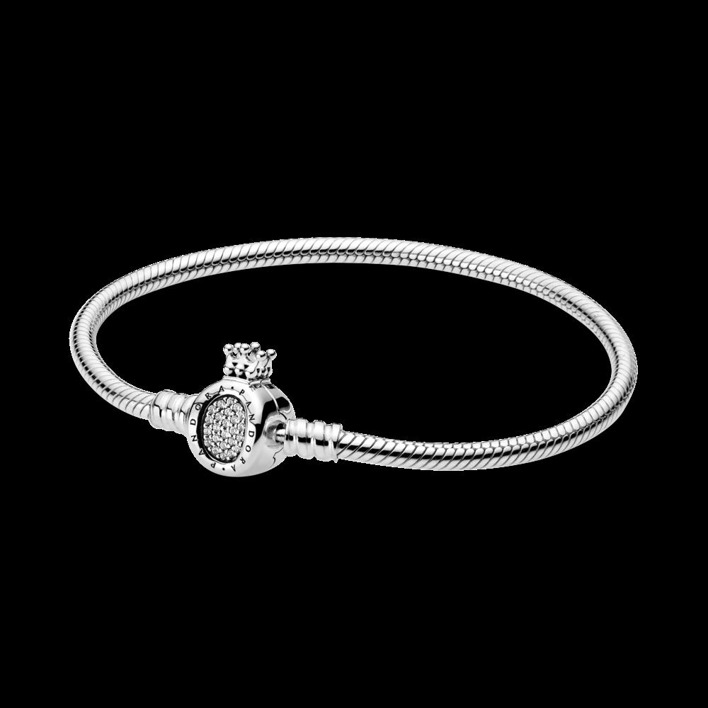 Срібний браслет з монограмою Pandora 598286CZ