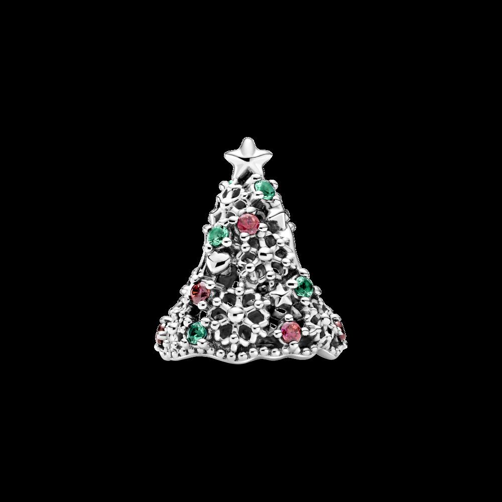 """Намистина """"Мерехтлива новорічна ялинка"""""""