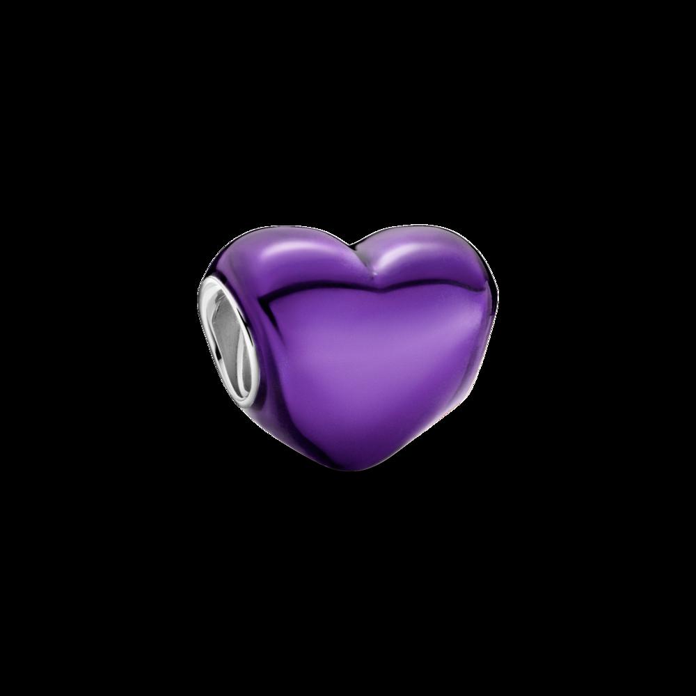 Намистина пурпурового кольору