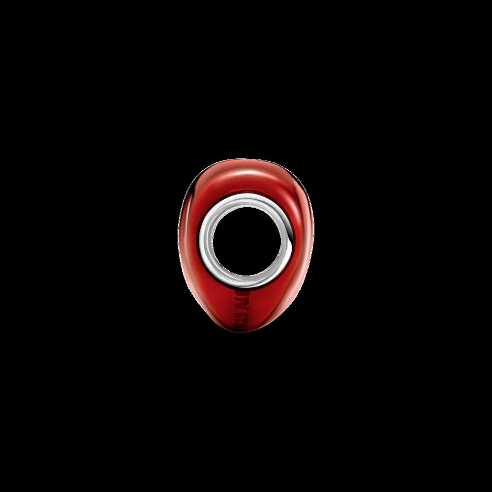 Намистина червоного кольору