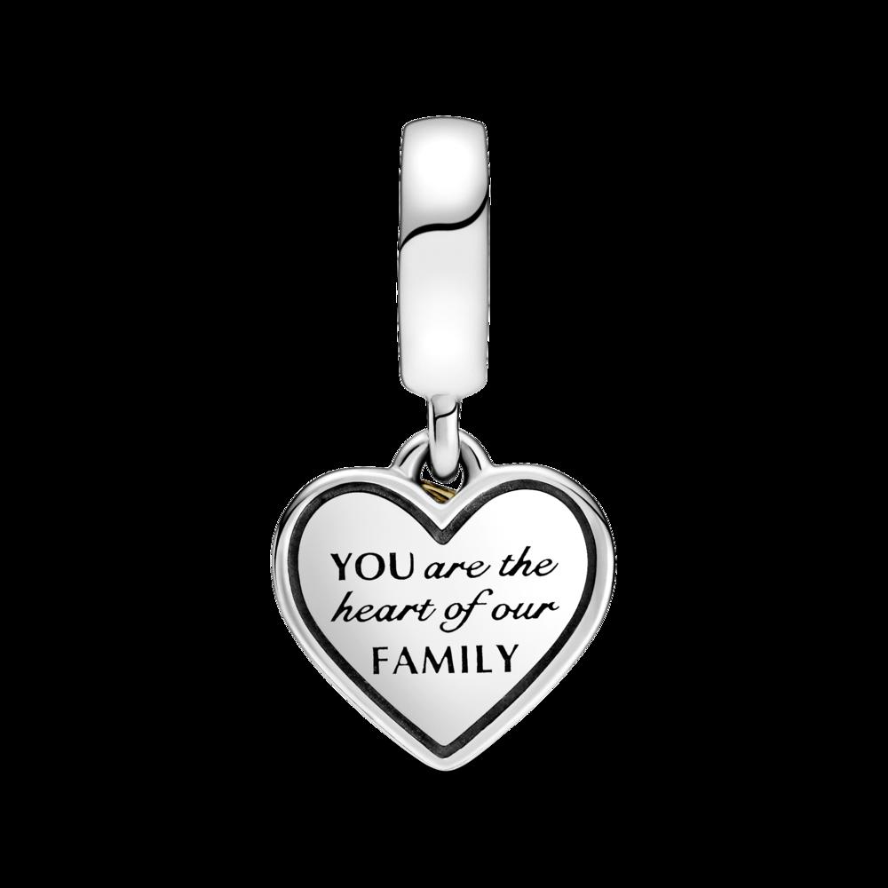 """Намистина """"Матуся, ти серце нашої сім'ї"""""""