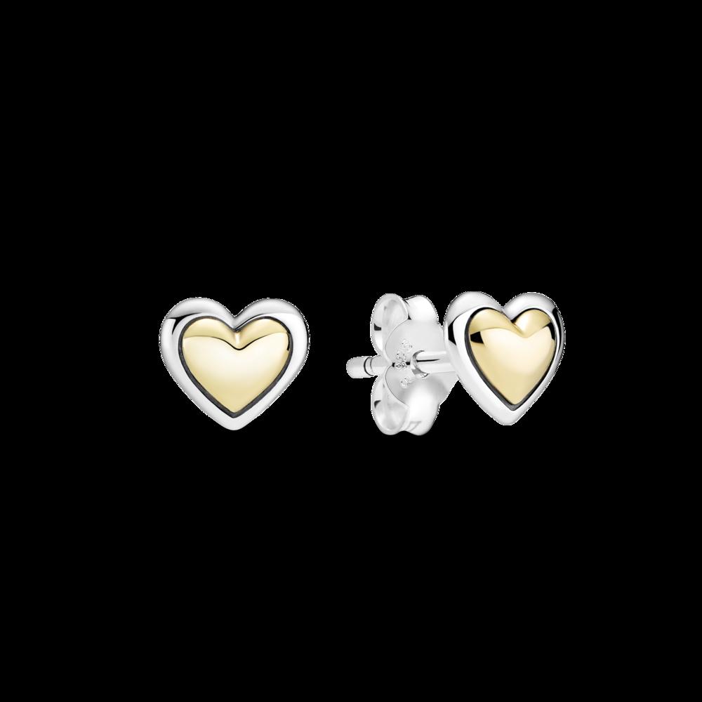 "Сережки ""Золоте серце"""