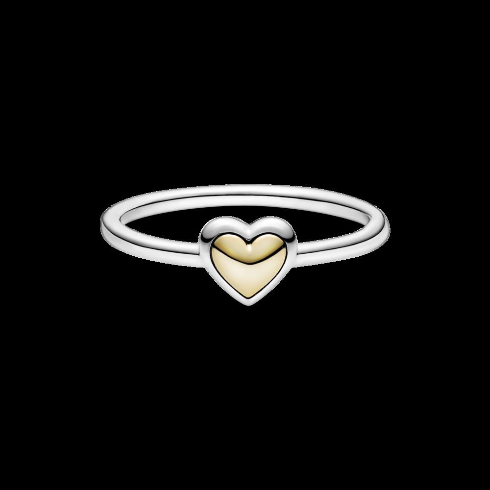 """Каблучка """"Золоте серце"""""""