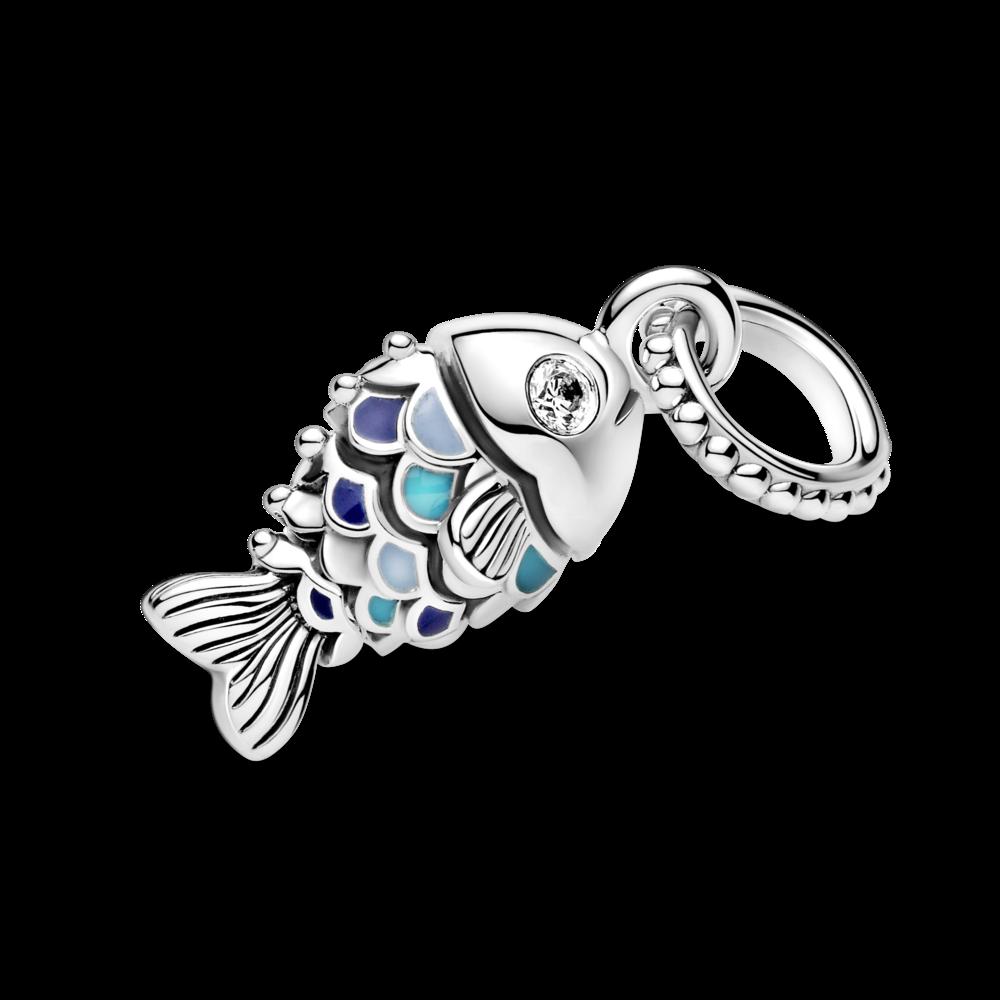 """Намистина """"Риба із синьою лускою"""""""