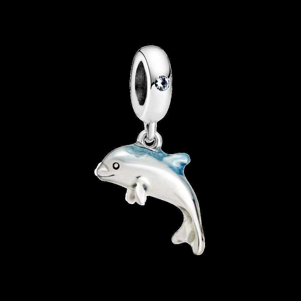 """Намистина """"Мерехтливий дельфін"""""""