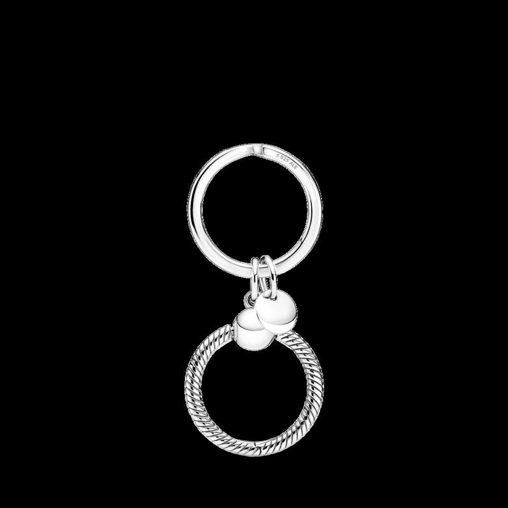 Брелок для ключів із кулоном Pandora O — фото 2