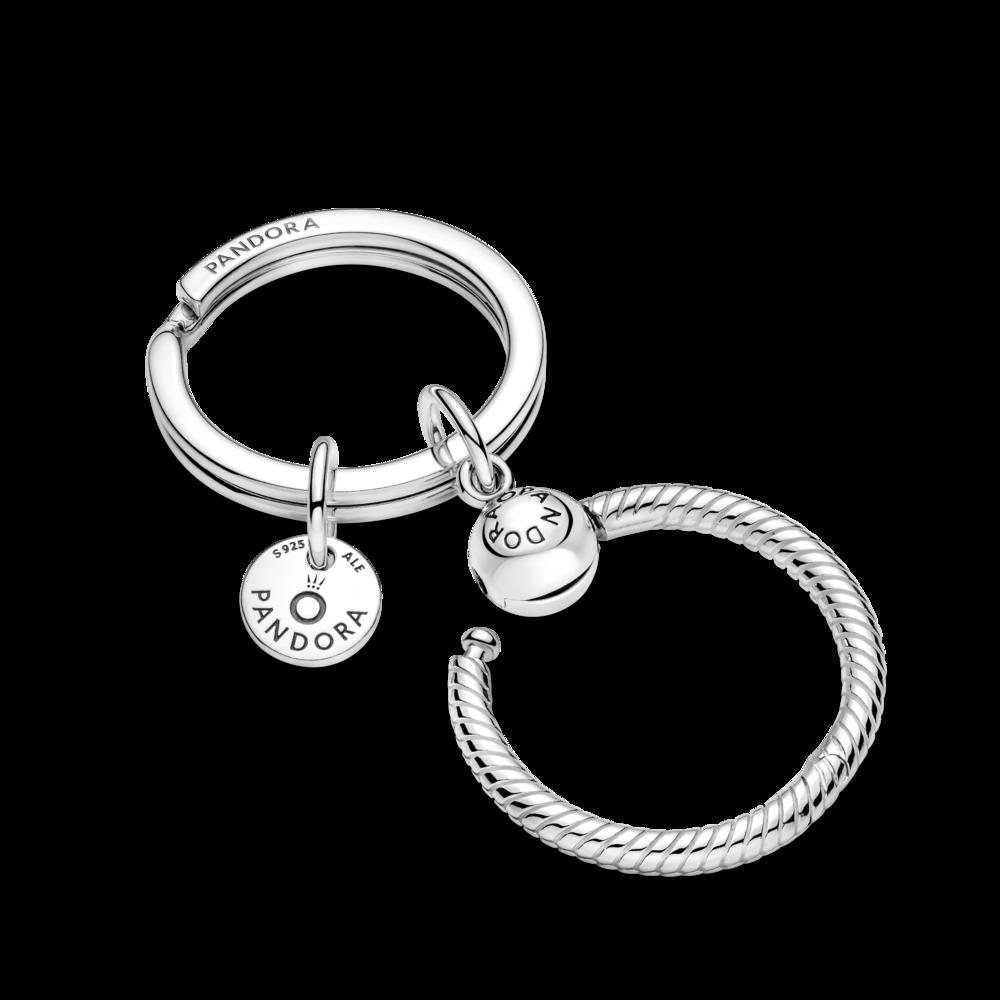 Брелок для ключів із кулоном Pandora O — фото 3