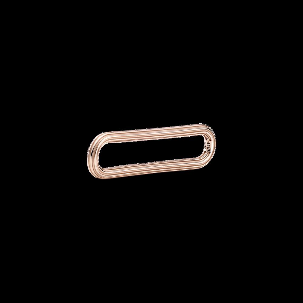Ланка з покриттям 14k рожевим золотом