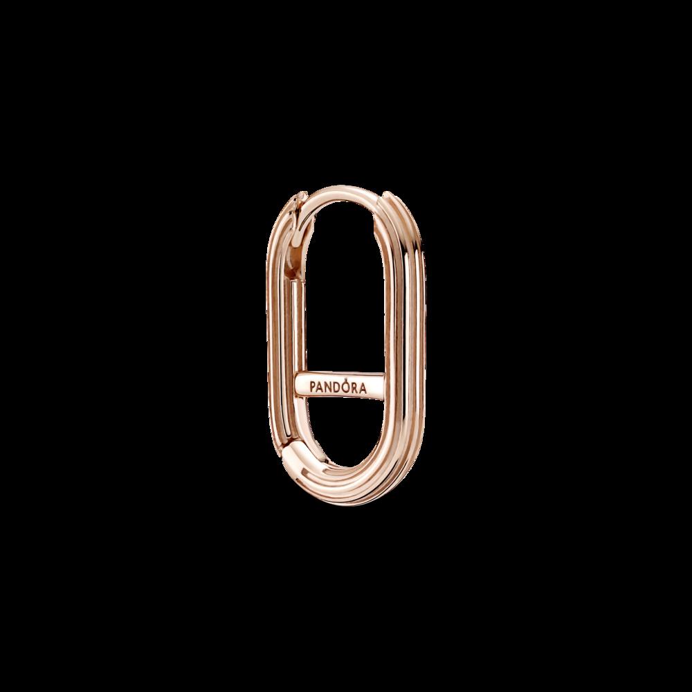 Сережка Pandora ME з покриттям 14k рожевим золотом — фото 1