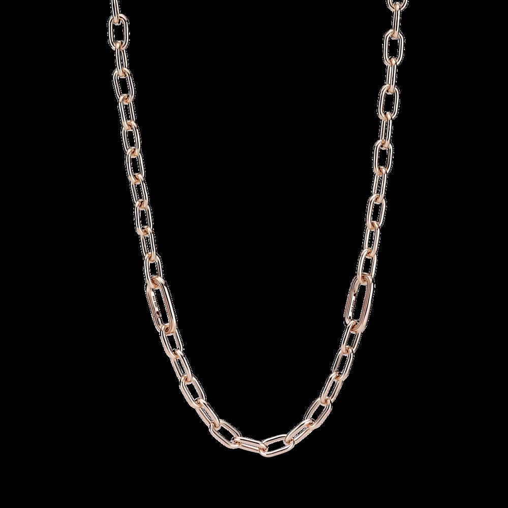 Ланцюг Pandora ME з покриттям 14k рожевим золотом
