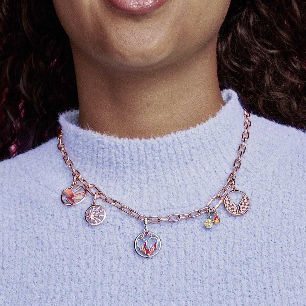 Ланцюг Pandora ME з покриттям 14k рожевим золотом — фото 7