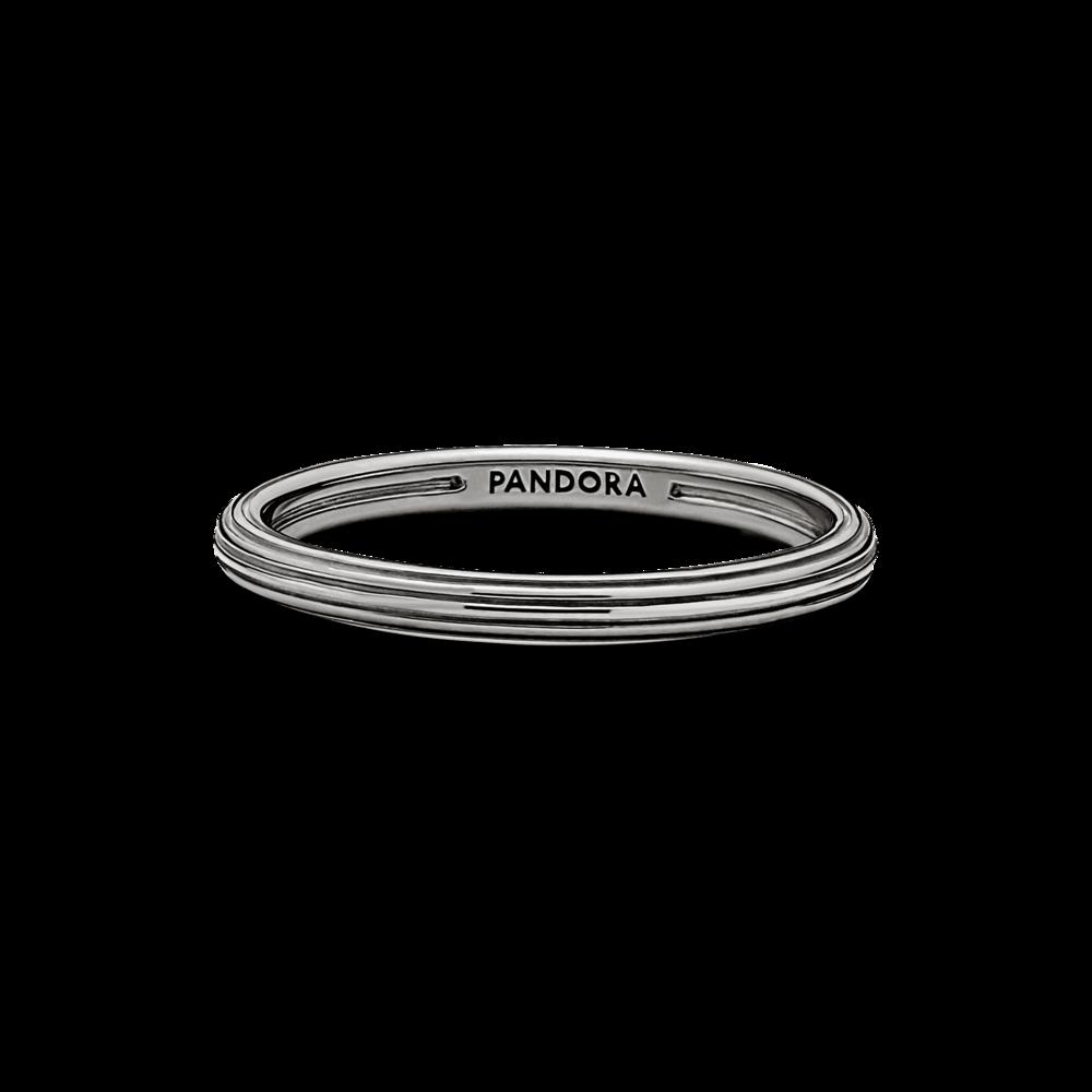 Каблучка Pandora ME з покриттям рутенієм — фото 2