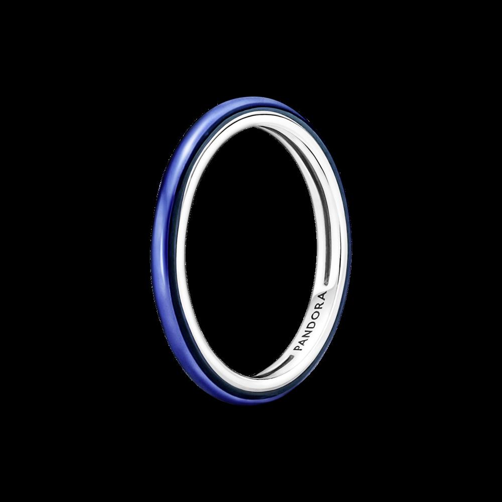 Каблучка електричного синього кольору Pandora ME