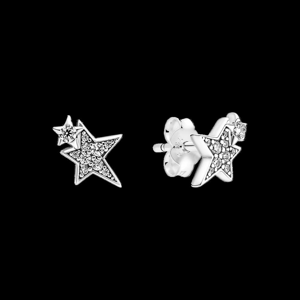 """Сережки """"Асиметричні зорі"""""""