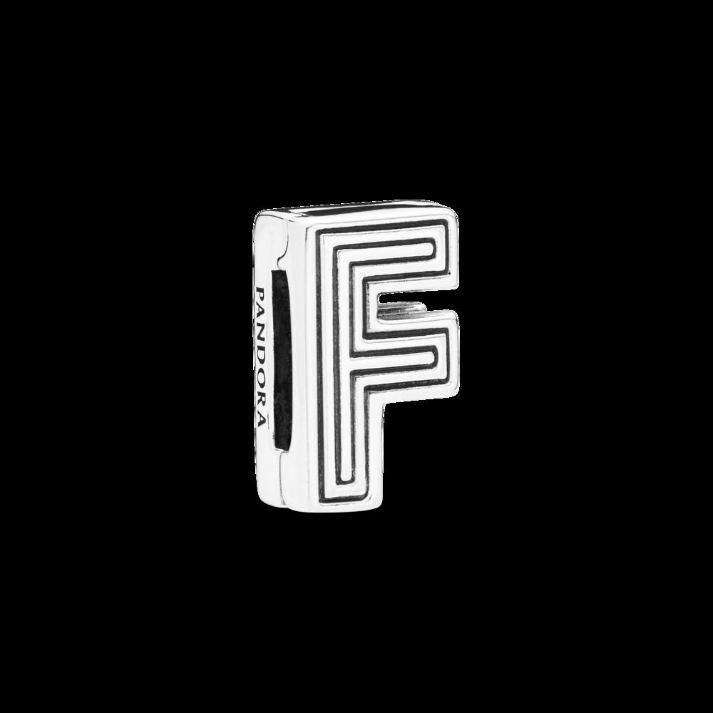 "Намистина ""Літера F"" Pandora Reflexions"