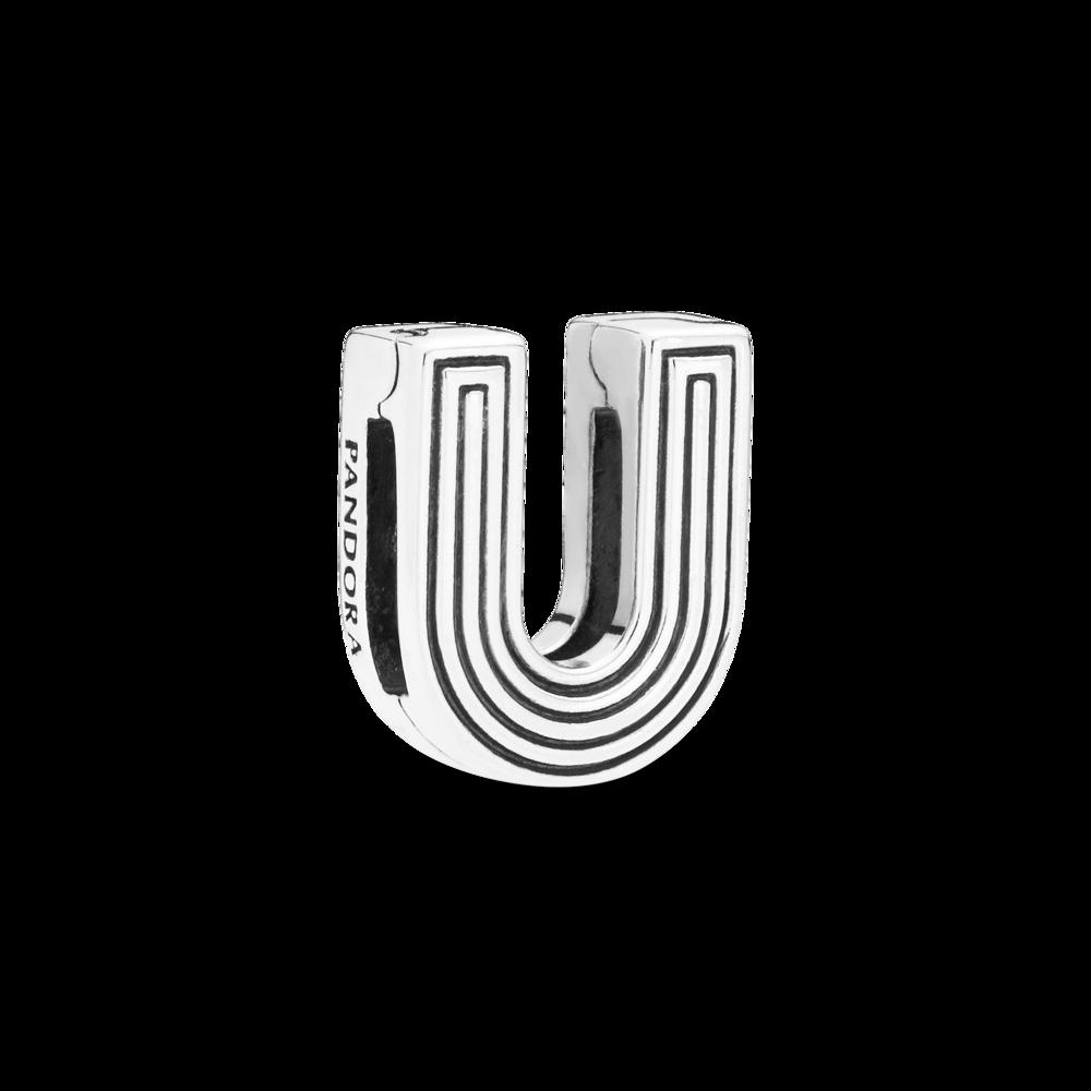 "Намистина ""Літера U"" Pandora Reflexions"