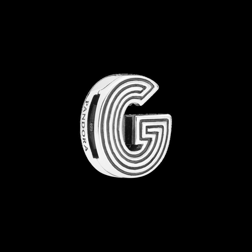 "Намистина ""Літера G"" Pandora Reflexions"