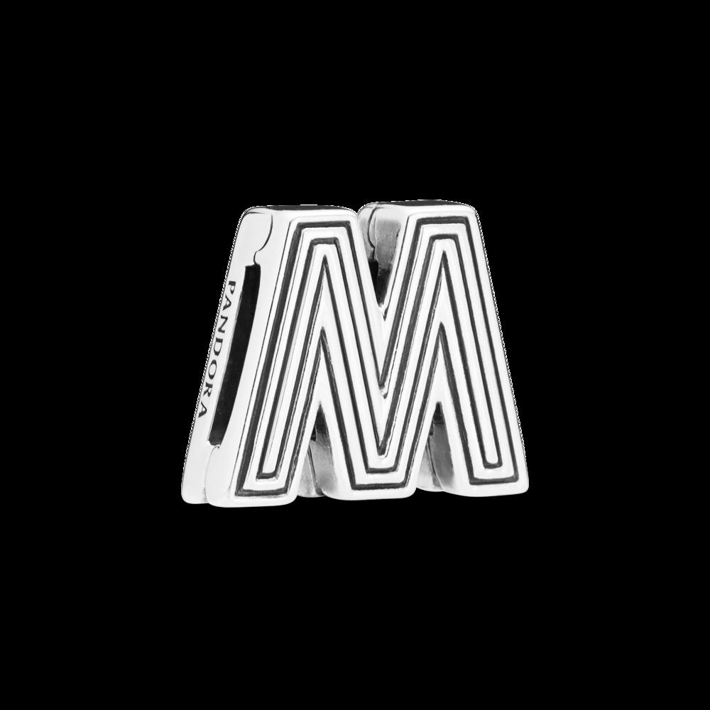 "Намистина ""Літера M"" Pandora Reflexions"
