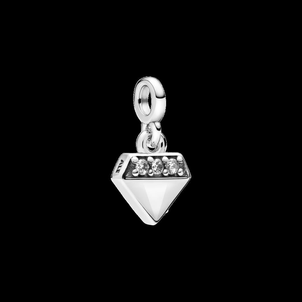 "Намистина ""Мій діамант"" на браслет Pandora Me"