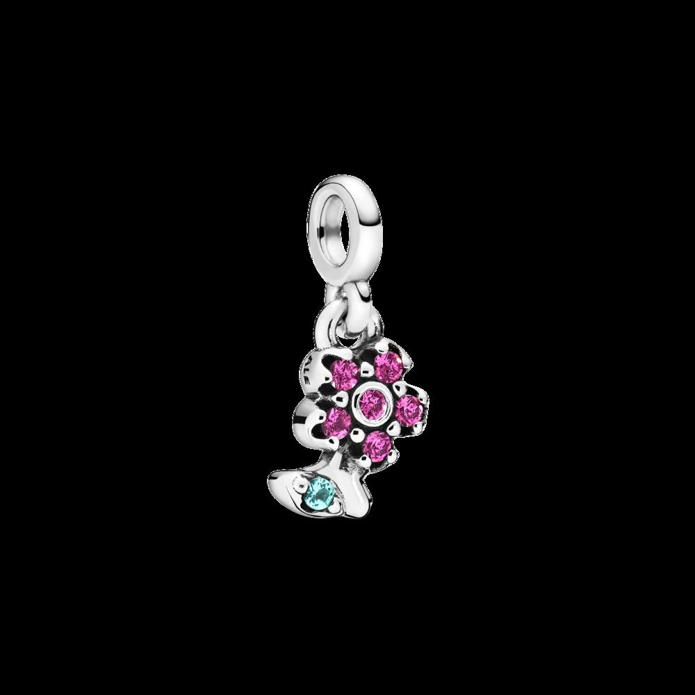 """Намистина """"Моя квіточка"""" на браслет Pandora Me"""