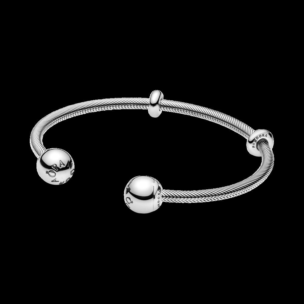 Срібний браслет-бангл
