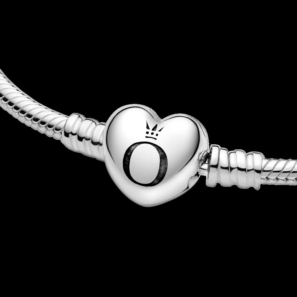 Браслет із застібкою у формі серця